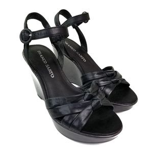 Franco Sarto 'Buster' Leather Wedges  VGC